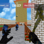 Advanced Blocky Combat SWAT APK (MOD, Unlimited Money)  1.36