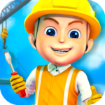 Construction City For Kids APK (MOD, Unlimited Money) 1.0.5