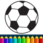 Football coloring book game APK (MOD, Unlimited Money) 13.9.6