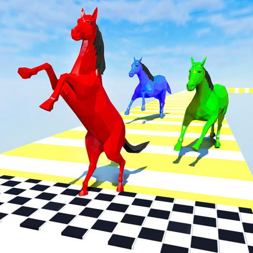 Horse Run Fun Race 3D Games APK (MOD, Unlimited Money)2.6