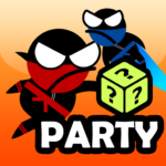 Jumping Ninja Party 2 Player Games APK (MOD, Unlimited Money) 4.1
