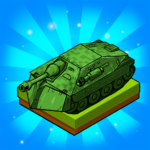 Merge Tanks: Best Military Vehicles Merger Game APK (MOD, Unlimited Money) 1.0.90