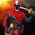 Power Dino Hero Ninja Fighters Battle Shadow Steel APK (MOD, Unlimited Money) 8.0