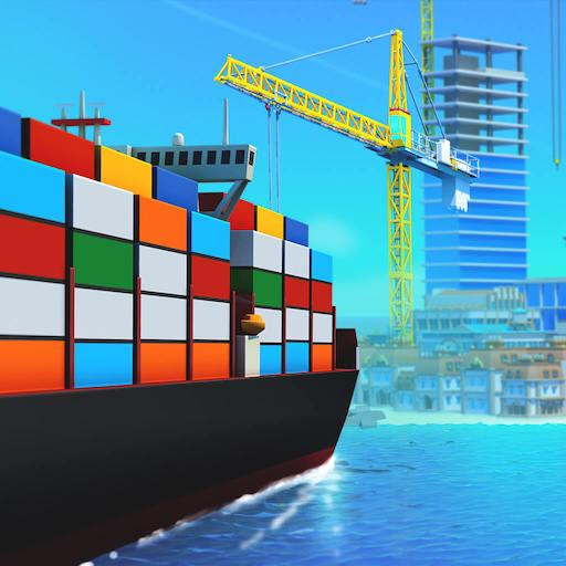 Sea Port: Build Town & Ship Cargo in Strategy Sim APK (MOD, Unlimited Money) 1.0.169