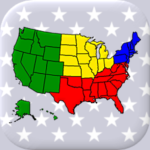 50 US States Map, Capitals & Flags – American Quiz APK (MOD, Unlimited Money) 3.2.0