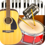 Band Live Rock 🎵 drum, bass, guitar, piano, mic APK (MOD, Unlimited Money) 3.3.3