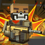 Blocky shooting war game: combat cubic arena APK (MOD, Unlimited Money) 1.10