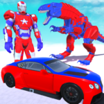 Dinosaur Robot Transform: Car Robot Transport Sim APK (MOD, Unlimited Money) 2.1