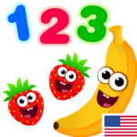 Funny Food 123! Kids Number Games for Toddlers APK (MOD, Unlimited Money) 2.5.0.12