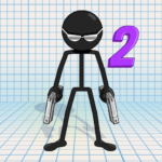 Gun Fu: Stickman 2 – Fun Shooting Games APK (MOD, Unlimited Money) 1.33.5