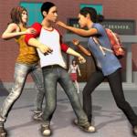 High School Bully Gangster: Karate Fighting Games APK (MOD, Unlimited Money) 1.0.10