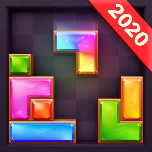Jewel Brick ™ – Block Puzzle & Jigsaw Puzzle 2019 APK (MOD, Unlimited Money) 1.8