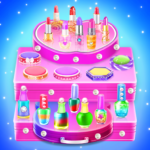 Makeup kit cakes : cosmetic box sweet bakery games APK (MOD, Unlimited Money) 1.0.13