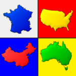 Maps of All Countries in the World: Geography Quiz APK (MOD, Unlimited Money) 3.0.0