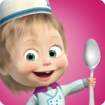 Masha and Bear: Cooking Dash APK (MOD, Unlimited Money) 1.3.8