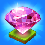 Merge Jewels: Gems Merger Evolution games APK (MOD, Unlimited Money) 2.4.8