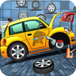 Modern Car Mechanic Offline Games 2019: Car Games APK (MOD, Unlimited Money) 1.0.50