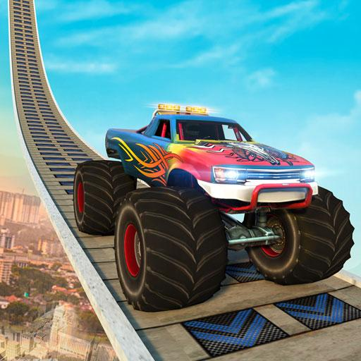 Monster Truck Mega Ramp Stunts Extreme Stunt Games APK (MOD, Unlimited Money) 1.35