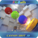 RGBalls – Cannon Fire : Shooting ball game 3D APK (MOD, Unlimited Money) 5.01