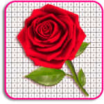 Rose Flowers Coloring Book, Color By Number Pixel APK (MOD, Unlimited Money) 6.0