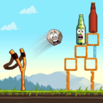 Sling King: Knock Down Bottle Shoot New Games 2020 APK (MOD, Unlimited Money) 2.0.035