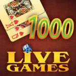 Thousand LiveGames – free online card game 1000 APK (MOD, Unlimited Money) 3.86