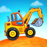 Truck games for kids – build a house, car wash APK (MOD, Unlimited Money) 5.17.1