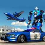 US Police Robot Car Transporter Police Plane Game APK (MOD, Unlimited Money) 1.1
