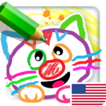 Drawing for Kids Learning Games for Toddlers age 3 APK (MOD, Unlimited Money) 3.0.2.2