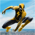 Flying Spider Rope Hero – Super Vice Town Crime APK (MOD, Unlimited Money) 1.0.32