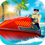 Jet Ski Craft: Crafting, Stunts & Jetski Games 3D APK (MOD, Unlimited Money) 1.3-minApi23