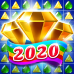 Jewel & Gems Mania 2020 – Match In Temple & Jungle APK (MOD, Unlimited Money) 8.7.5