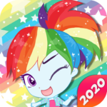 Mini Ponies Rainbow Pinkie Pony Dress Up APK (MOD, Unlimited Money) 1.4