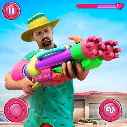 Pool Party Gunner FPS – New Shooting Game 2018 APK (MOD, Unlimited Money) 1.5