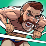 The Muscle Hustle: Slingshot Wrestling Game APK (MOD, Unlimited Money) 1.30.1588