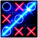 Tic Tac Toe Glow APK (MOD, Unlimited Money) 7.7