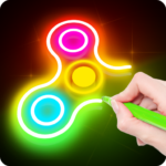 Draw Finger Spinner APK (MOD, Unlimited Money) 1.0.10