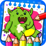 Fantasy – Coloring Book & Games for Kids APK (MOD, Unlimited Money) 1.17