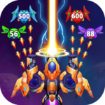Galaxy Raid: Space shooter APK (MOD, Unlimited Money) 7.1.3