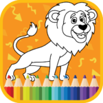 Kids Coloring Book : Cute Animals APK (MOD, Unlimited Money) 1.0.1.4