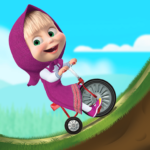 Masha and the Bear: Climb Racing and Car Games APK (MOD, Unlimited Money) 3.4.3