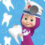 Masha and the Bear: Free Dentist Games for Kids APK (MOD, Unlimited Money) 1.2.9