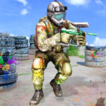Paintball Arena Shooting: Shooter Survivor Battle APK (MOD, Unlimited Money) 1.1.7