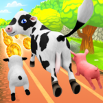 Pets Runner Game – Farm Simulator APK (MOD, Unlimited Money) 1.6.3