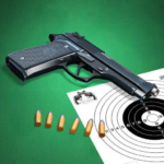 Pistol shooting at the target.  Weapon simulator APK (MOD, Unlimited Money) 4.8