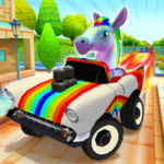 Pony Craft Unicorn Car Racing – Pony Care Girls APK (MOD, Unlimited Money) 1.1.25