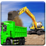 Sand Excavator Truck Driving Rescue Simulator game APK (MOD, Unlimited Money) 5.2
