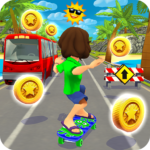 Skater Rush – Endless Skateboard Game APK (MOD, Unlimited Money) 1.1.7