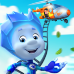 The Fixies Helicopter Game! Fiksiki Fixing Games! APK (MOD, Unlimited Money) 1.6.0