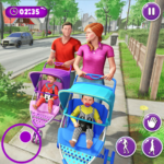 Virtual Mother New Baby Twins Family Simulator APK (MOD, Unlimited Money) 2.1.7